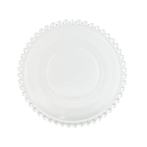 Prato Sobremesa Cristal Pearl
