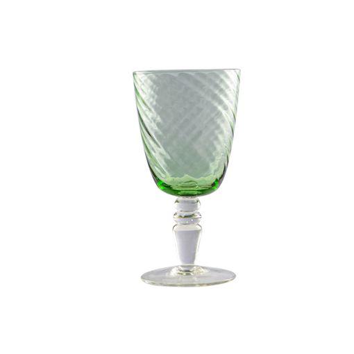 Set Taça Água Ramas Verde